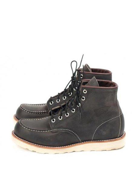 Redwing 8890 Moc Toe Boot - Charcoal
