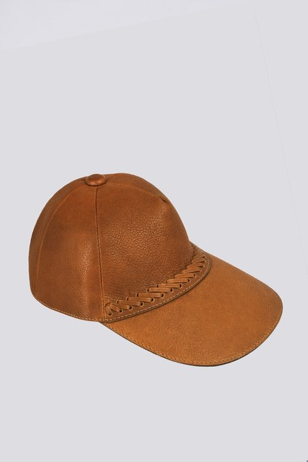 Paxa Leather Cap - Ceiba