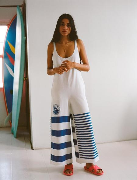 OffSeasonNYC Souvenir Sportsuit - White French Terry