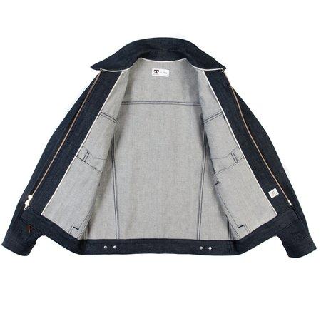 Tellason Zip Front Jean Jacket - 12.5 oz Cone Mills Denim