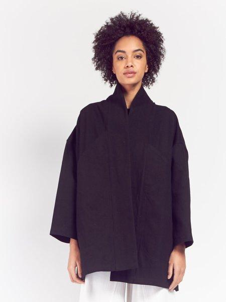 Unisex 69 Pocket Bag Blazer - Black