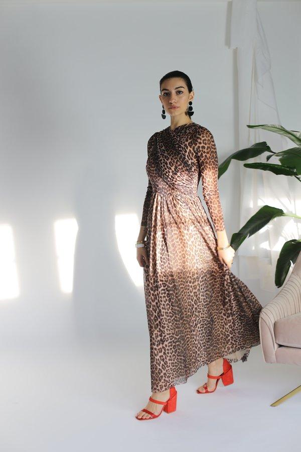 Ganni Tilden Mesh Dress