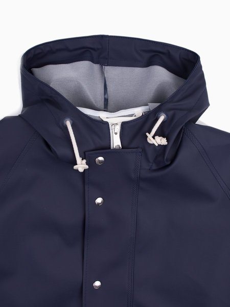 Norse Projects Anker Rain in Dark Navy