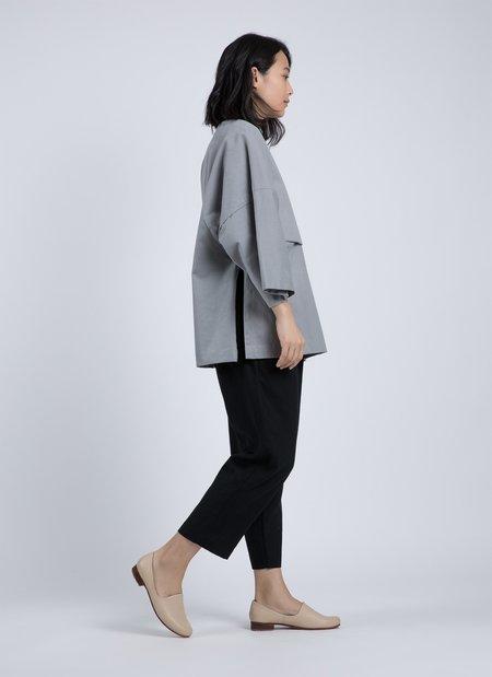 KAAREM Forage Pleated Pocket Linen Pant - Black