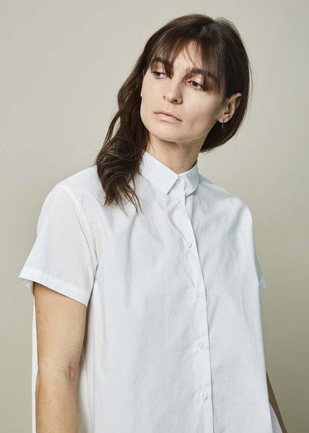 Yoshi Kondo Ballet Pleated Shirt - White