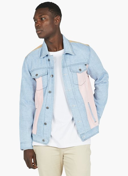 Barney Cools B.Rigid Denim Jacket - Retro Indigo