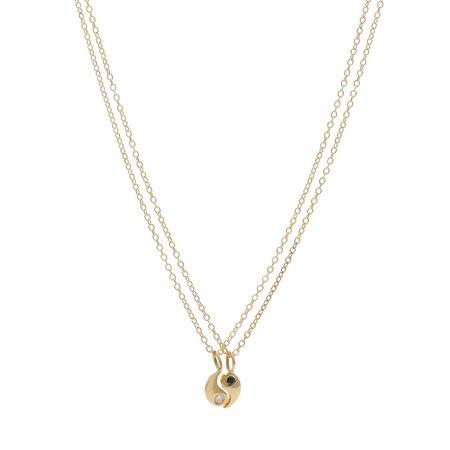 Tarin Thomas Yin Yang Best Friend Necklace