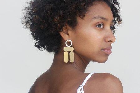 Claire Green Balance Earrings - CG10