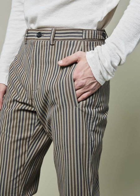 Hannes Roether Cesis Striped Trouser