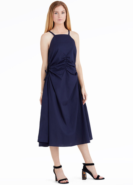 Toit Volant Jurancon Dress - Navy Blue