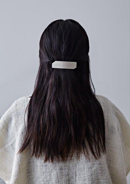 Silver Hairclip