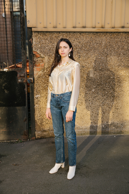 JOAN VINTAGE Levi's 501 Straight Fit Jeans