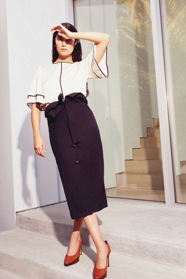 Kamperett Lazar Skirt - Black