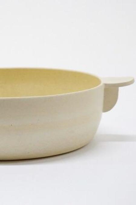 Workaday Handmade Large White Casserole