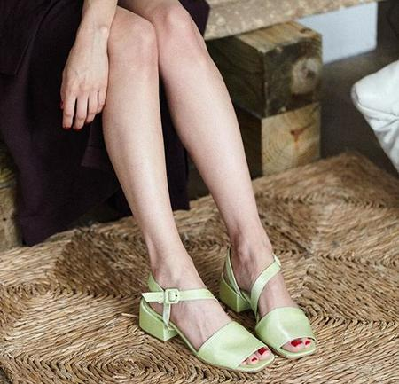 About Arianne Selma Lima Sandals - Lime Green