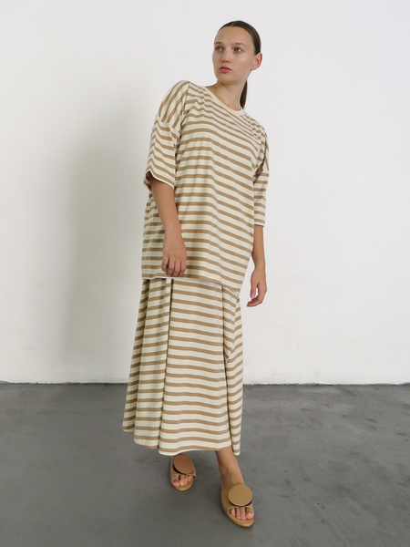 Kowtow Building Block Tall Tee - Tan