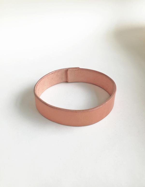 Bartleby Objects Open Leather Choker