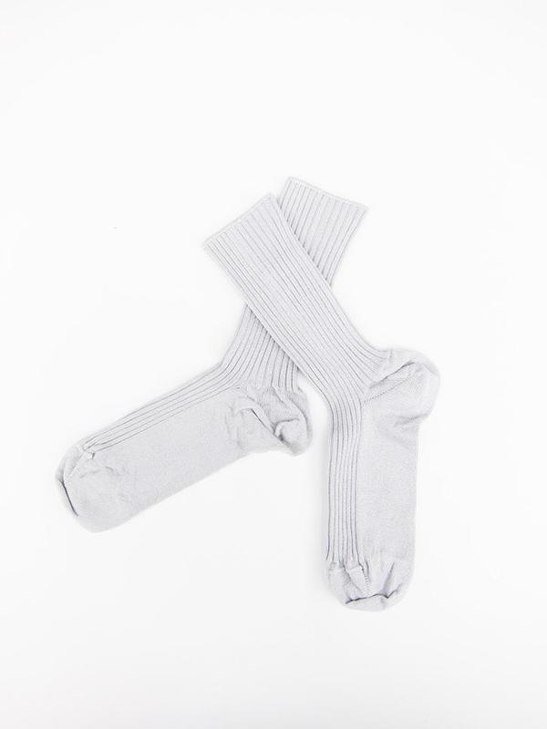 Baserange Over Ankle Sock - Silver