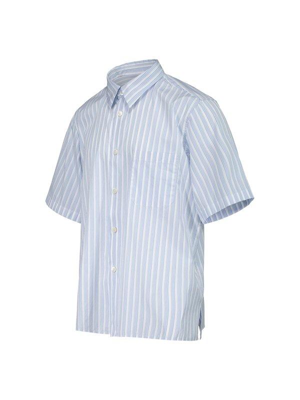 Tres Bien Tourist Striped Poplin Shirt