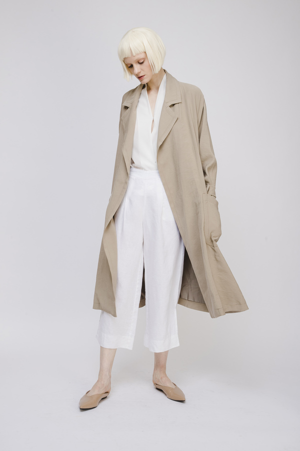 Opusion Trench Coat with Belt
