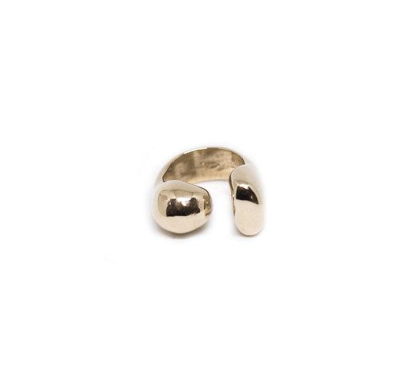 Ora Statement Ring - Bronze