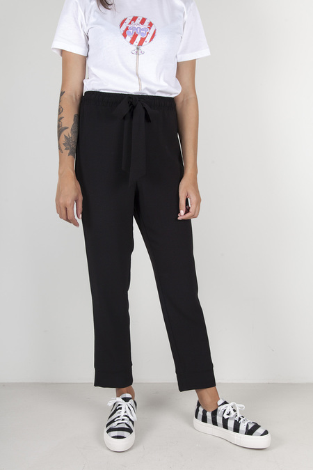 Ganni Clark Trouser - Black