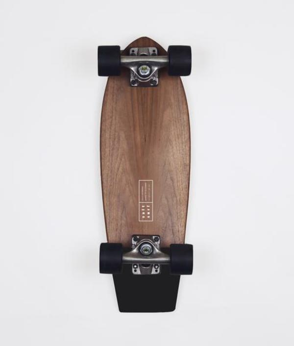 Salt Surf Cruiser Skateboard  - Walnut