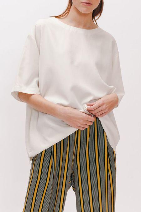 MAIDEN NOIR Rayon Silk Shirt
