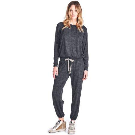 Nation Ltd Medora Capri Sweats - Charcoal