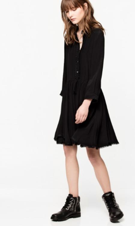 Zadig & Voltaire Ranil Dress - Black