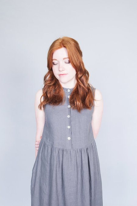 Ode to Sunday Helena Dress Grey