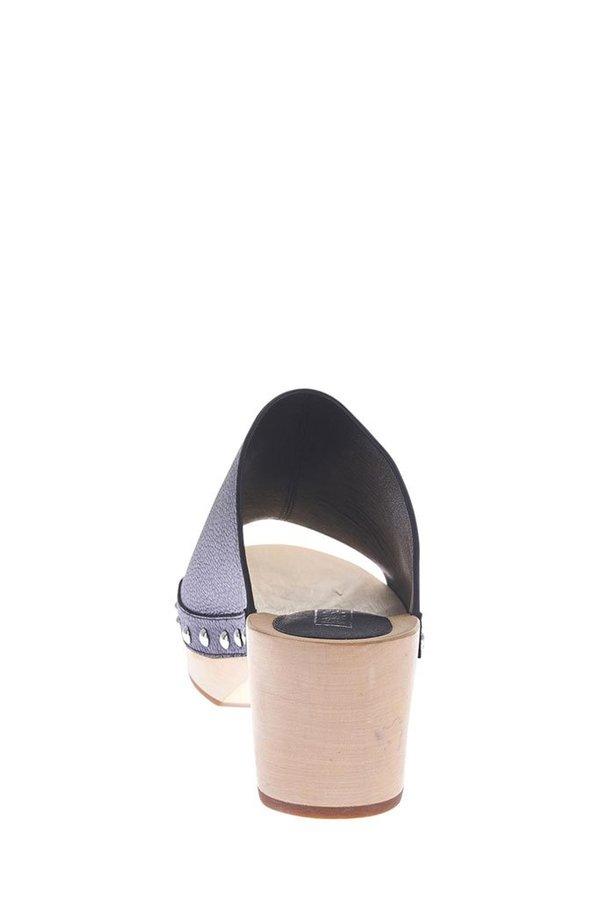Sol Sana Jackie Clog - Black Leather