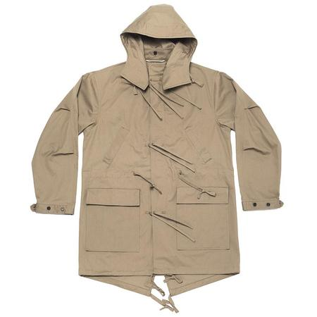 S.K. Manor Hill Fishtail Parka - Clay