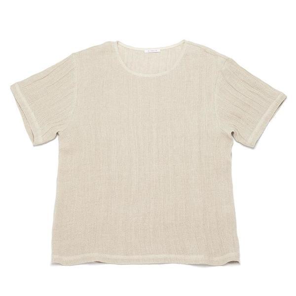 S.K. Manor Hill Linen T-Shirt - Natural