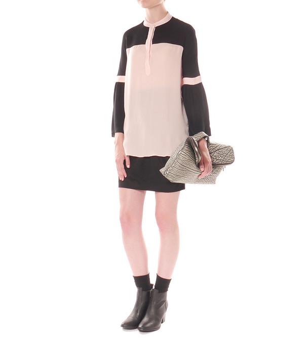 Angélique Chmielewski Contrast Gathered Sleeve Shirt