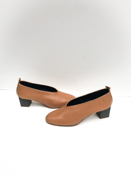 Gray Matters Mildred Camel Pumps