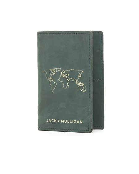 Jack + Mulligan Passport Wallet - Forrest
