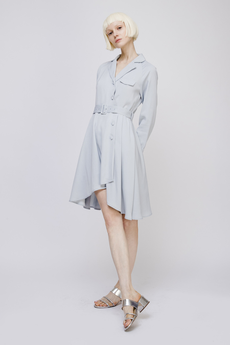 Fansilanen Midi Dress with Belt