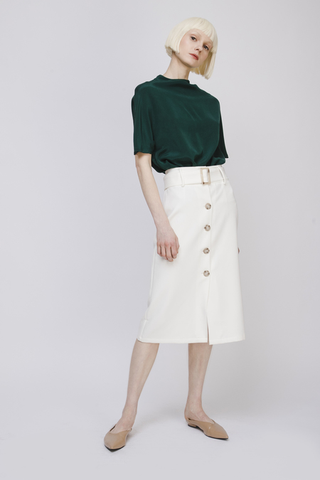 Fansilanen Midi Skirt with Belt