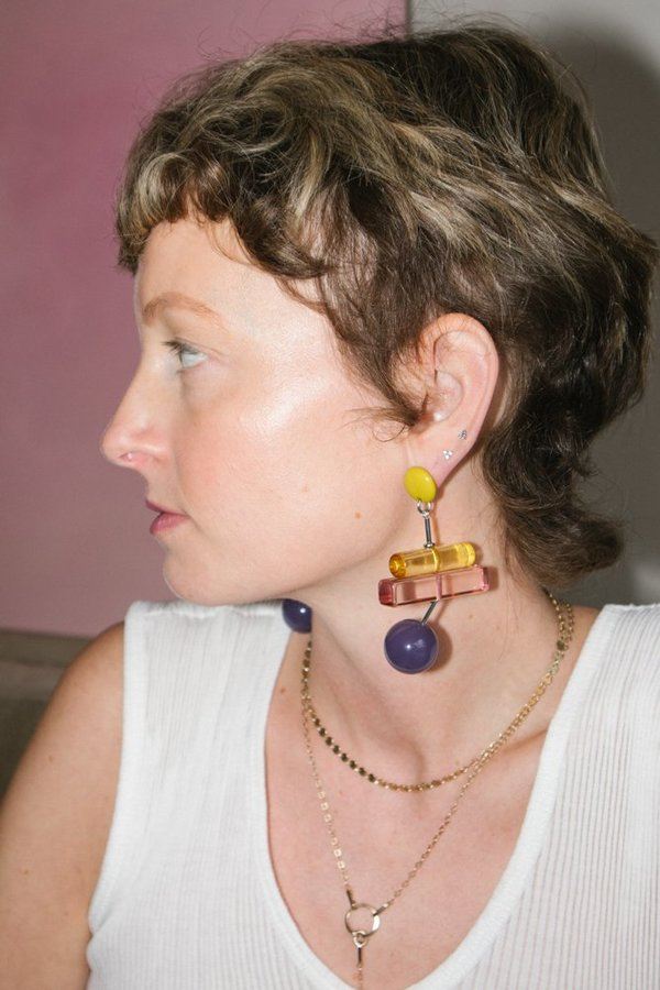 Rachel Comey Orb - Purple/Yellow