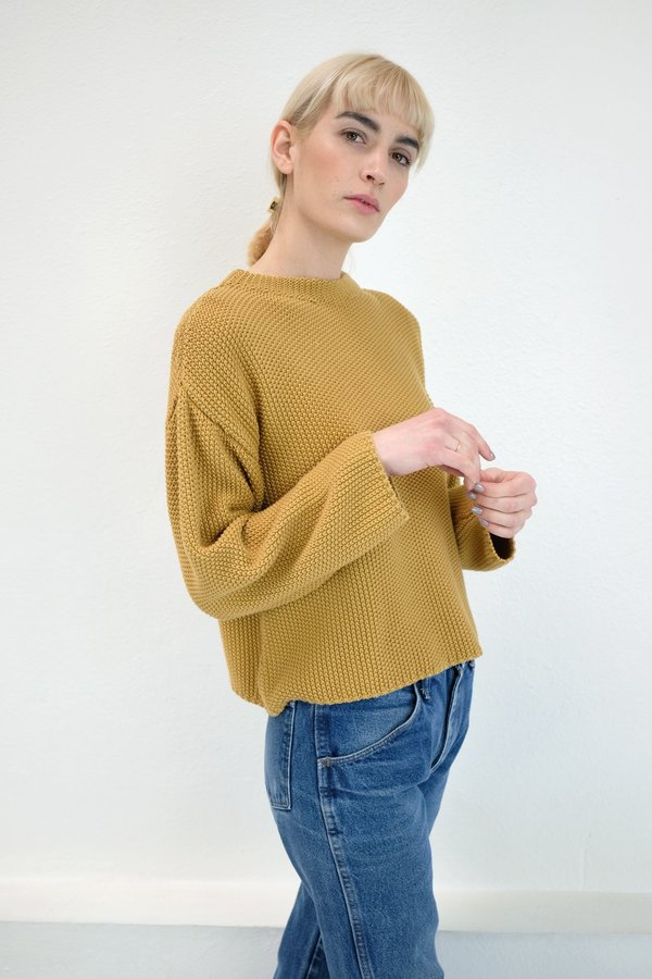 Micaela Greg Seed Sweater -  Maize