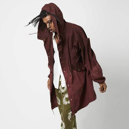 Post-Imperial Overdyed Lightweight Parka