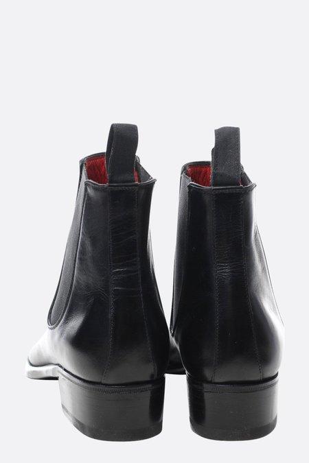 Le Yucca's Black Chelsea Boot