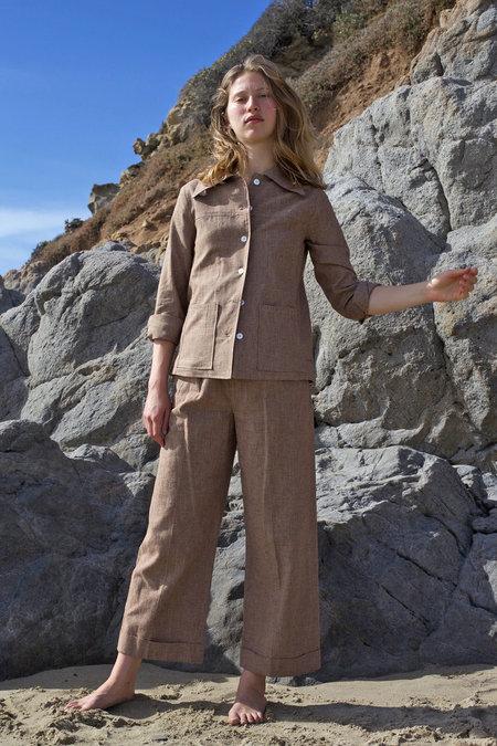 Roberta Jacket - Cedar Houndstooth