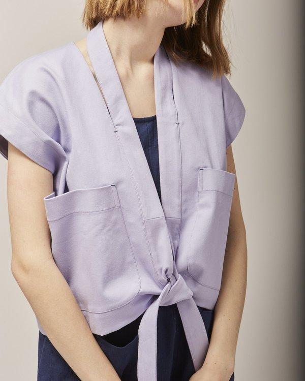 Reality Studio Wheezer waistcoat - lilac