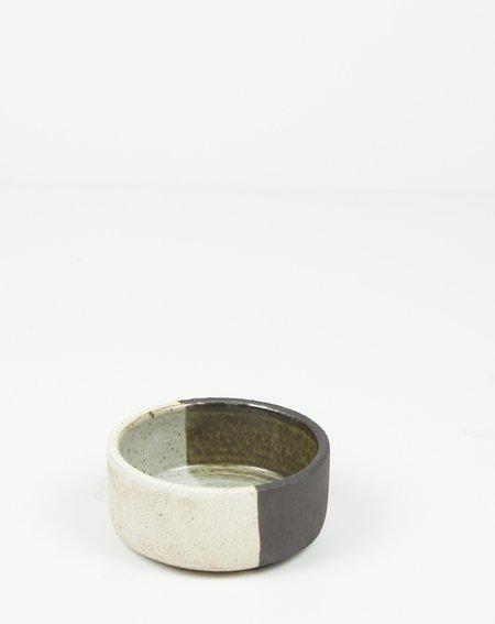 MQuan Studio Glazed Votive - BLACK/WHITE