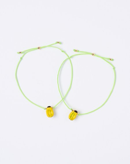 Venessa Arizaga Let's Never Split Bracelet Set