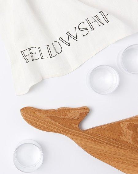 Sir Madam Little Whale Wood Board - White Oak