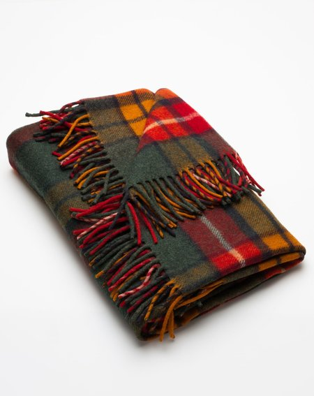 Covet + Lou Vintage Stadium Blanket - Red Plaid