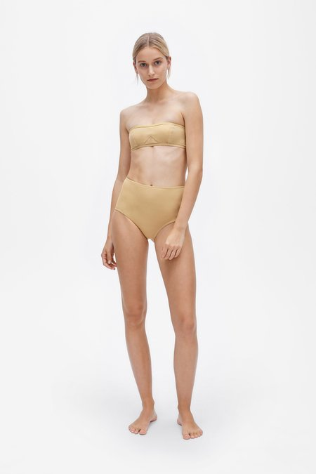 Her Line Lily Two-piece Set - Light straw